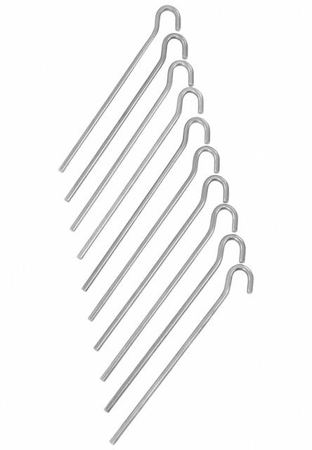 CAMPZ Markpinne slät 18 cm aluminium (2019)
